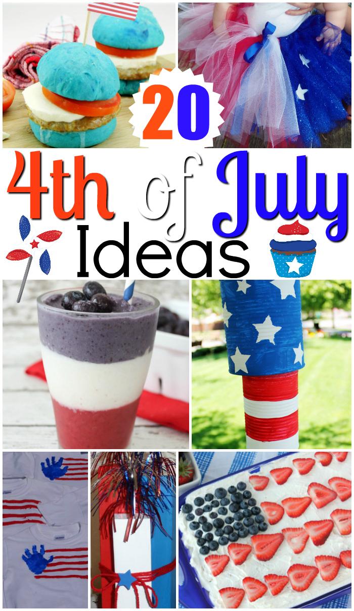 Inspiring 4th of July ideas!