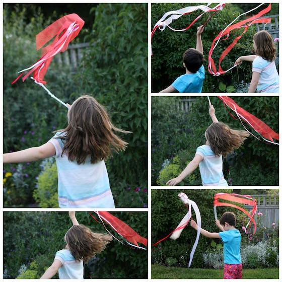 DIY crafts for canada day | DIY Ribbon Twirlers for Kids | Patriotic Ribbon Twirlers Craft | Resin Crafts | Canada Day projects | Resin DIY | Resin Decor | Canada Day project | Canada Day celebration | Party ideas for Canada Day | Canada Day Decor