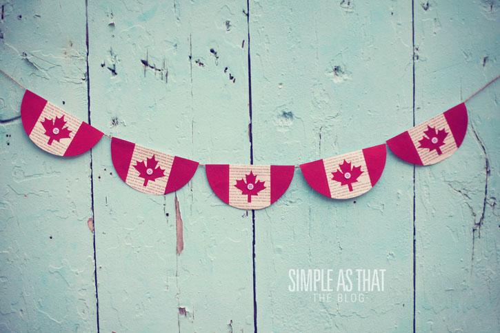 DIY crafts for canada day | DIY Banner | Canada Day Bunting | Resin Crafts | Canada Day projects | Resin DIY | Resin Decor | Canada Day project | Canada Day celebration | Party ideas for Canada Day | Canada Day Decor