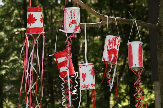 DIY crafts for canada day | DIY Windsock for Kids | Windsock Craft | Resin Crafts | Canada Day projects | Resin DIY | Resin Decor | Canada Day project | Canada Day celebration | Party ideas for Canada Day | Canada Day Decor