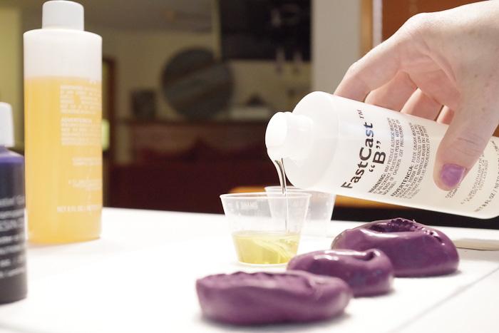Resin Seashell Wall Art - Pouring Resin Part B Hardener