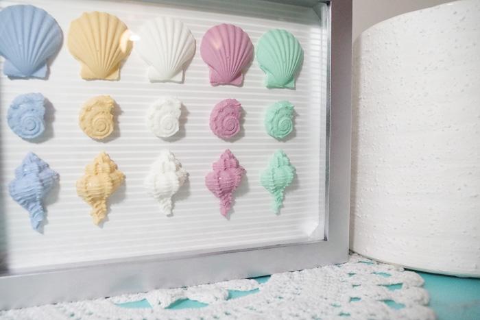 seashells using fastcast
