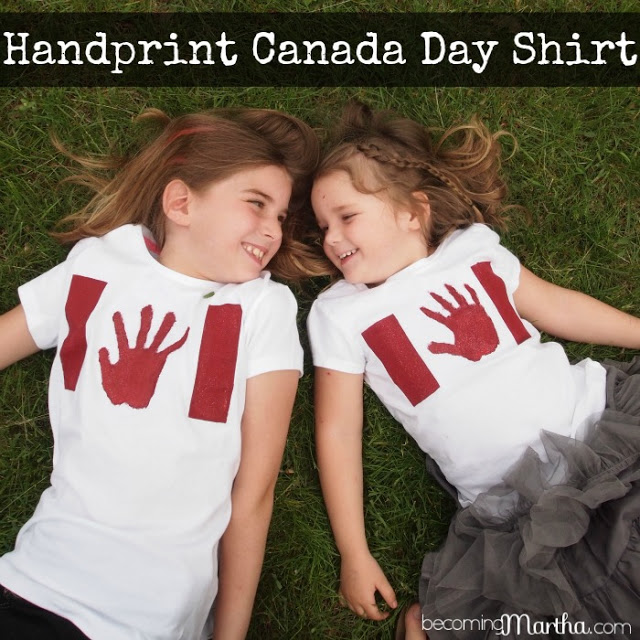 DIY crafts for canada day | DIY Canada Day T-Shirts | DIY Handprint T-Shirts | Resin Crafts | Canada Day projects | Resin DIY | Resin Decor | Canada Day project | Canada Day celebration | Party ideas for Canada Day | Canada Day Decor