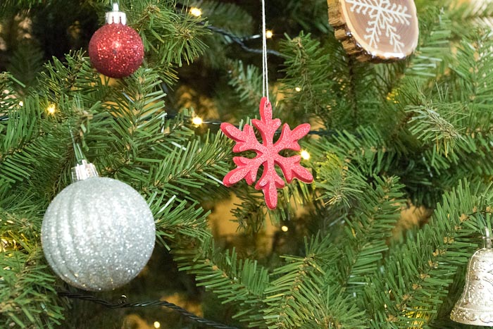 Snowflake mold and castings- use your snowflakes as ornaments