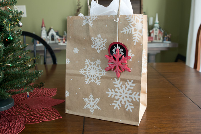 Snowflake mold and castings- use your snowflakes as additions to gift tags