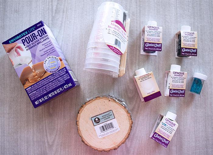 Wood Coaster Supplies