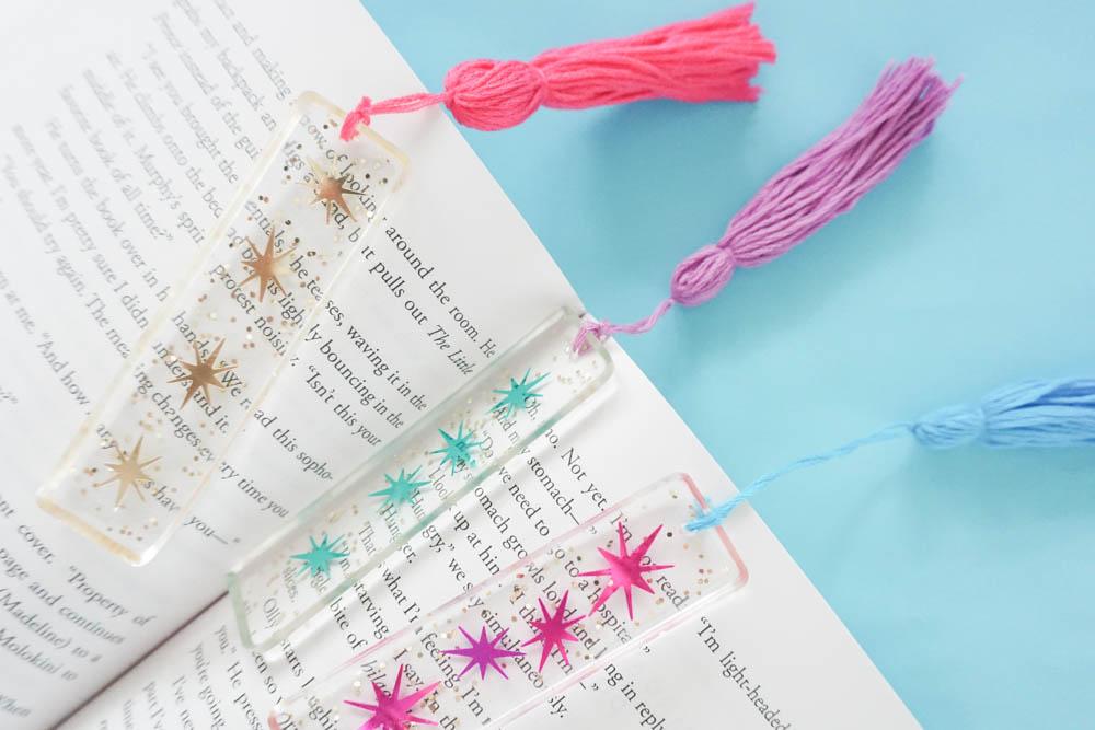 DIY Resin Bookmarks