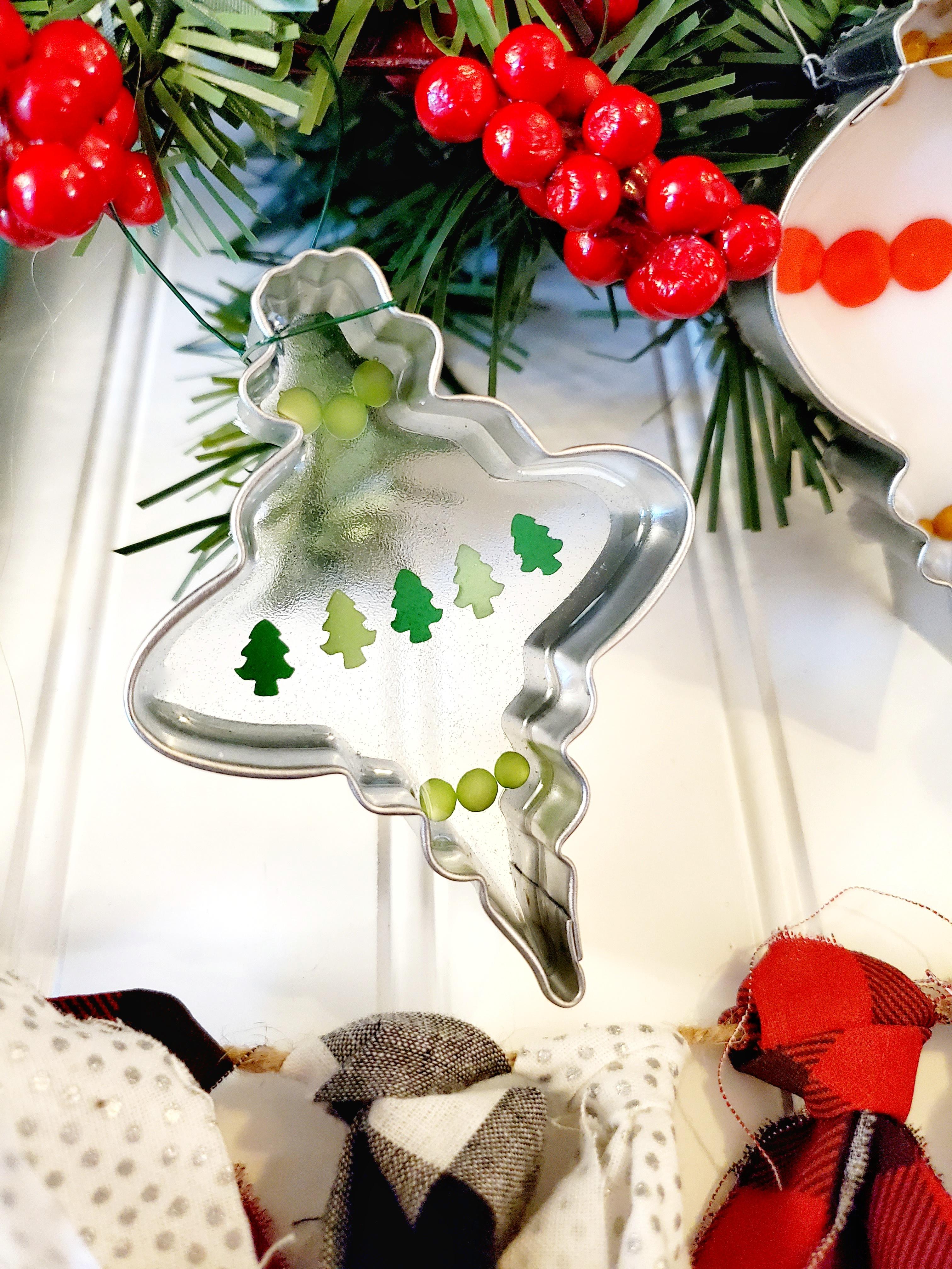 Resin Christmas ornament