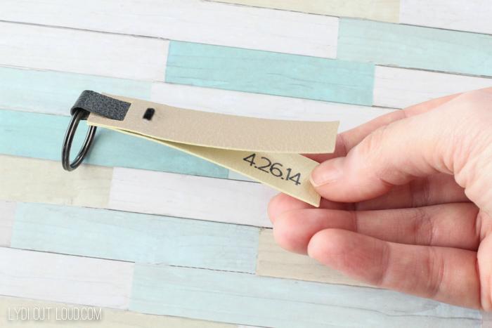 DIY Leather Keyfob