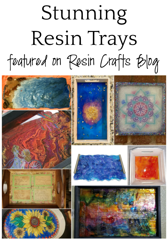 Stunning Resin Trays