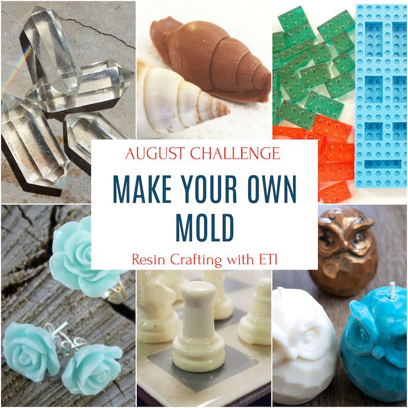 DIY molds for resin casting