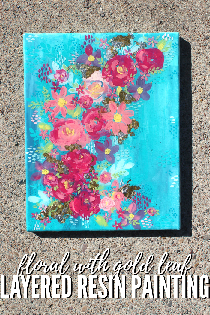 This painting is canvas with multiple layers of thick, creamy paints and 2 layers of Envirotex Lite High Gloss Resin. There are a variety of textures, shines, depths and finishes on this painting that makes it so intriguing.
