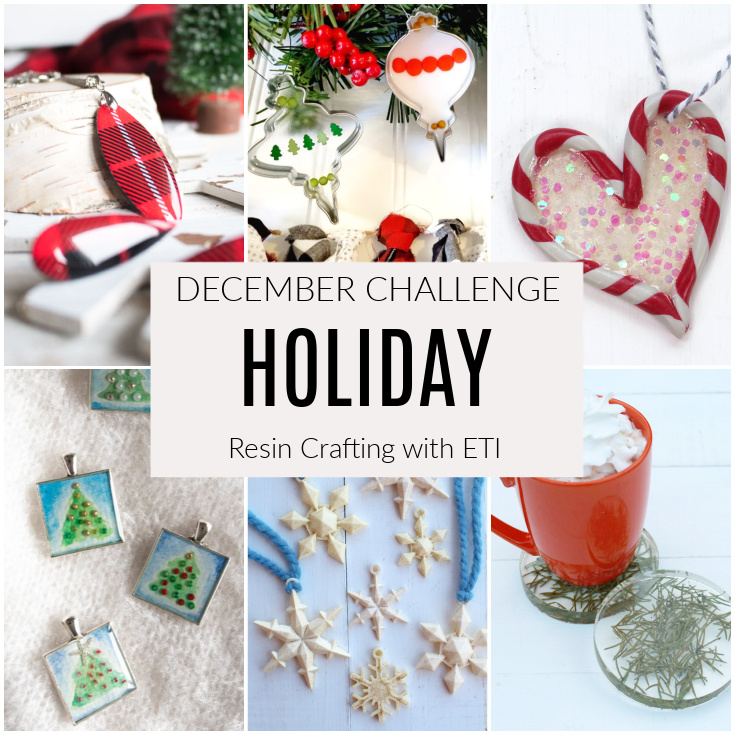 December resin crafting challenge