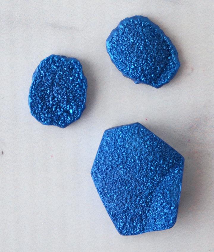 Druzy Resin Pieces