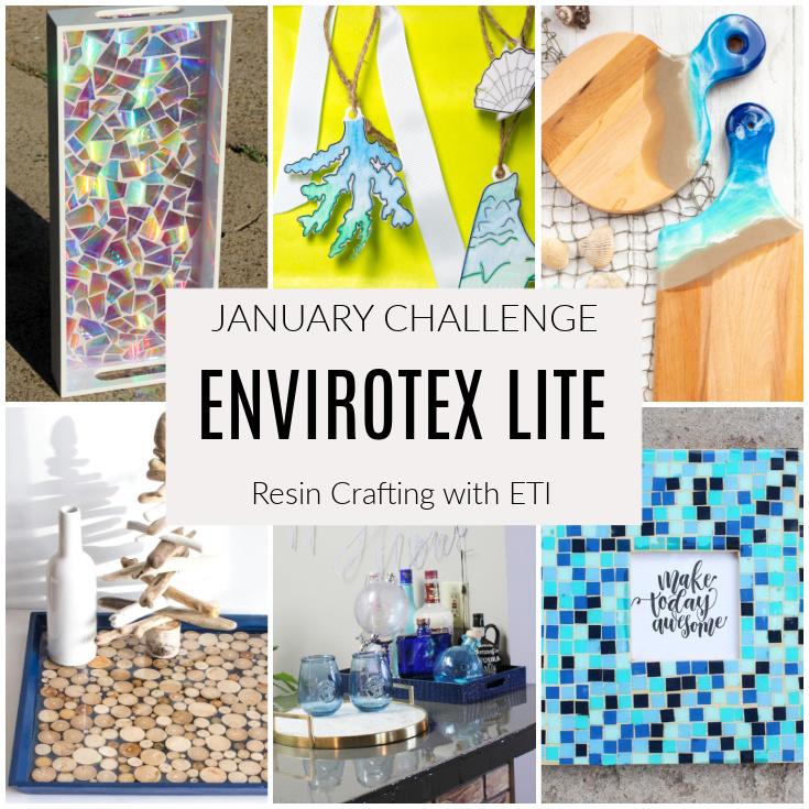 Envirotex Lite resin crafting challenge