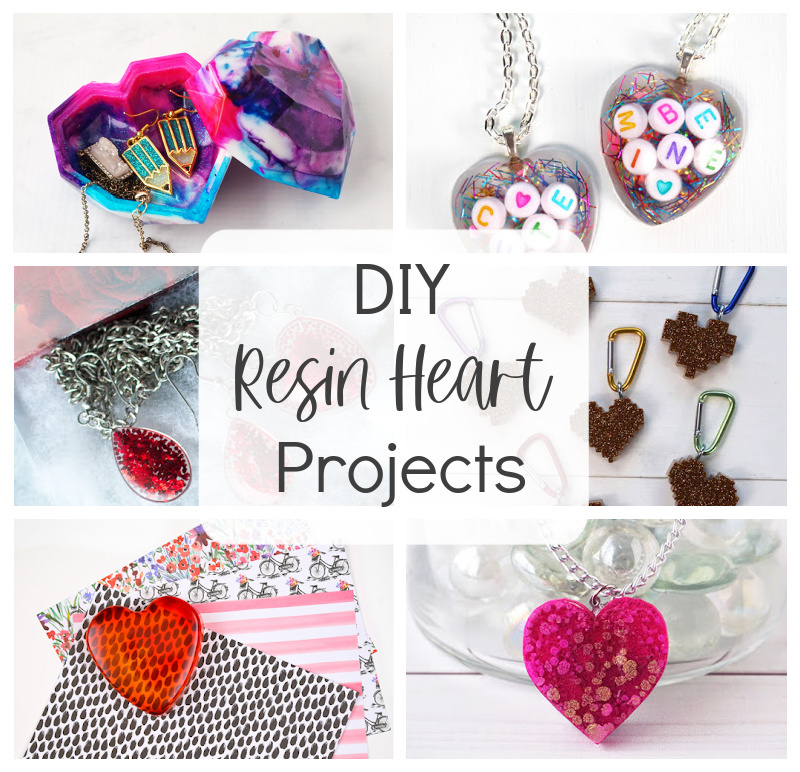 DIY Resin Heart Projects