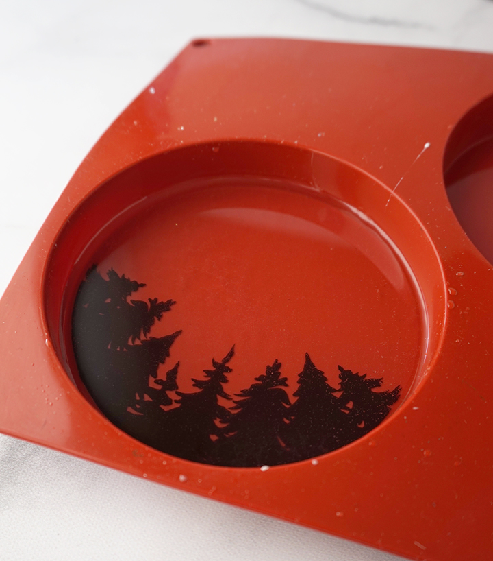 Tree Printable with Resin in Mold