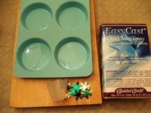 EasyCast® Glittery Snowflake Ornament