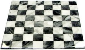 Faux Marble Chess Board using EnviroTex Lite®
