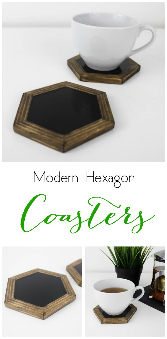 Modern Hexagon Coasters Resin Crafts