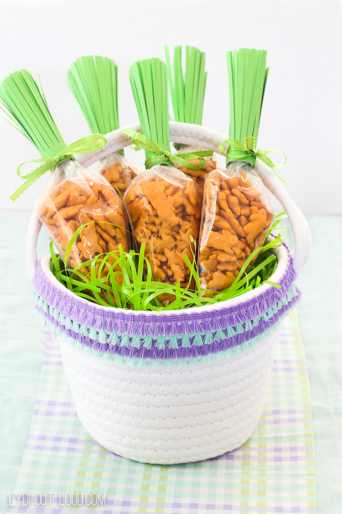 Carrot Easter Treat Bags