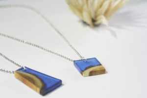Wood and Resin Pendant using EasyCast