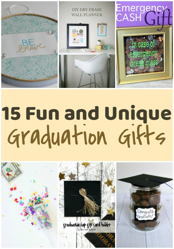 15 Fun and Unique Graduation Gifts