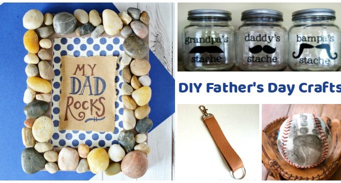 18 Father's Day Crafts That Will Melt His Heart