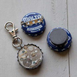 Jewelry Clay Keychain Magnet Pinbacks