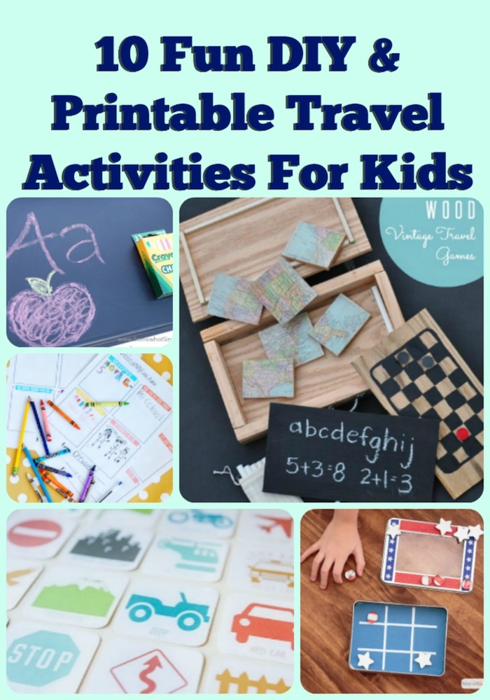 10 Fun DIY Printable Travel Activities To Keep The Kids ...