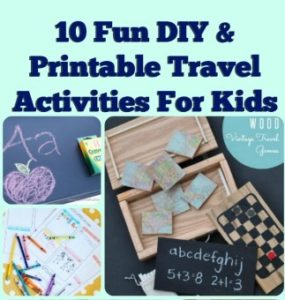 10 Fun DIY Printable Travel Activities To Keep The Kids Busy