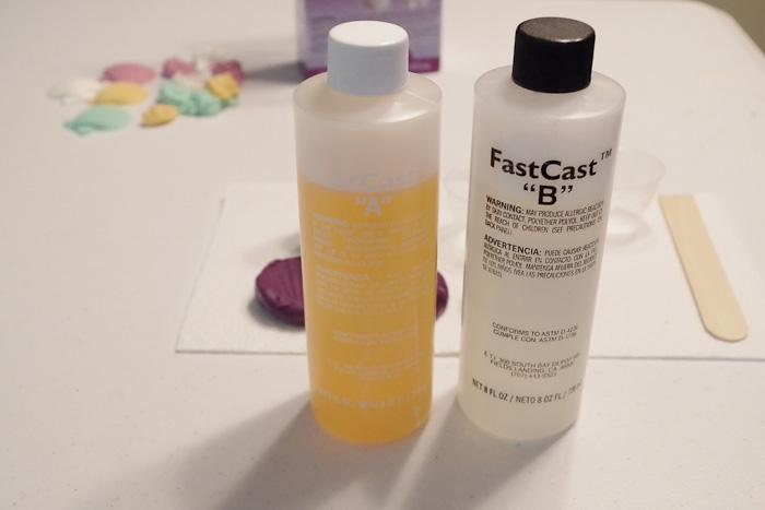Resin Seashell Wall Art - FastCast Resin bottles