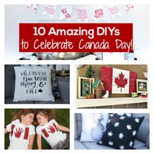 10 DIYs for Canada Day!