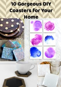 10 Gorgeous DIY Coasters You Need In Your Home