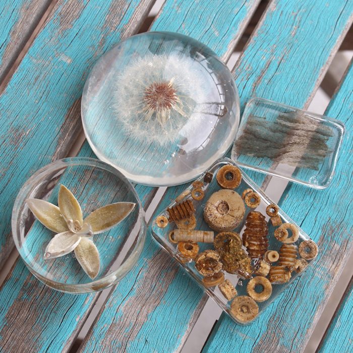 DIY: Clear Casting Resin Paperweights - Resin Crafts