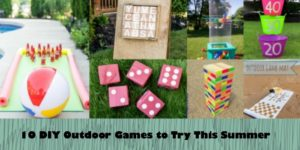 DIY Outdoor Games You Have To Try This Summer