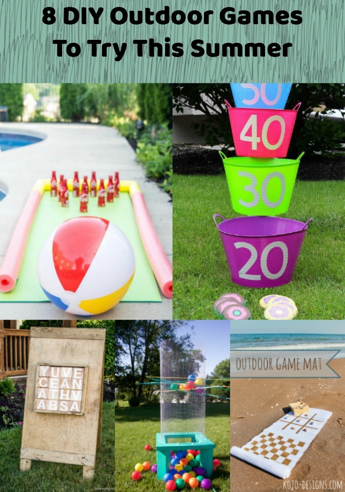 Fun DIY Outdoor Games