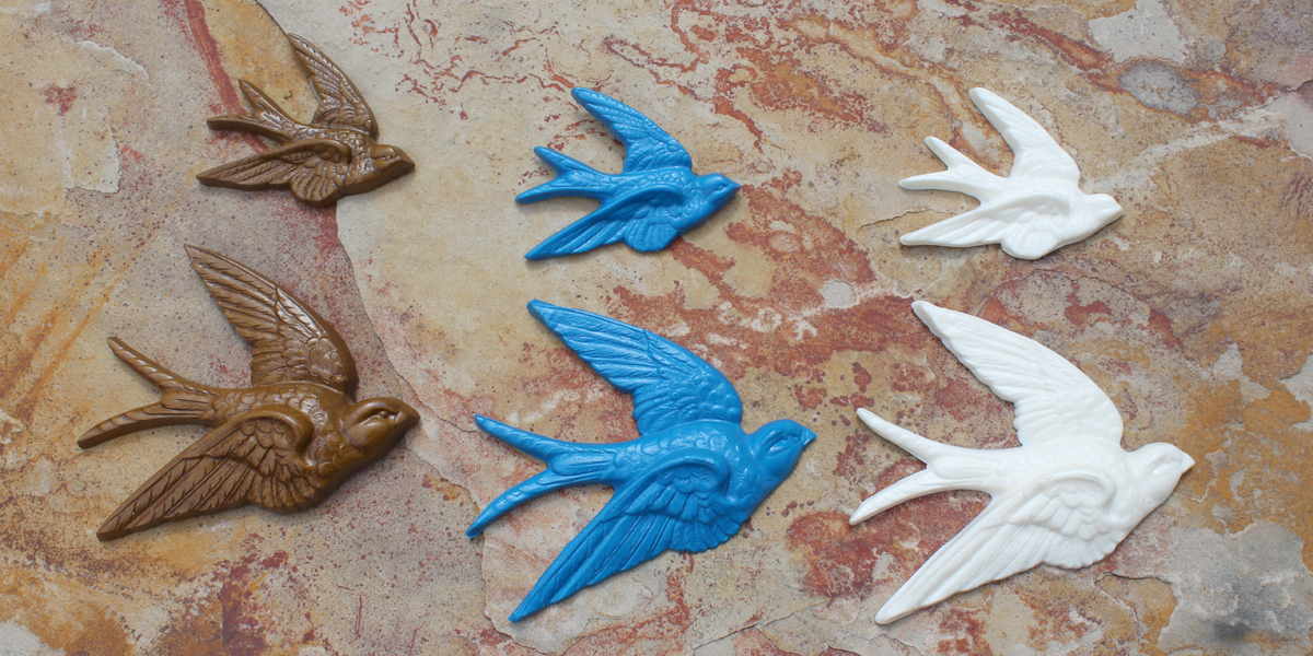 Sparrow wall art custom silicone mold resin crafts altavistaventures Images