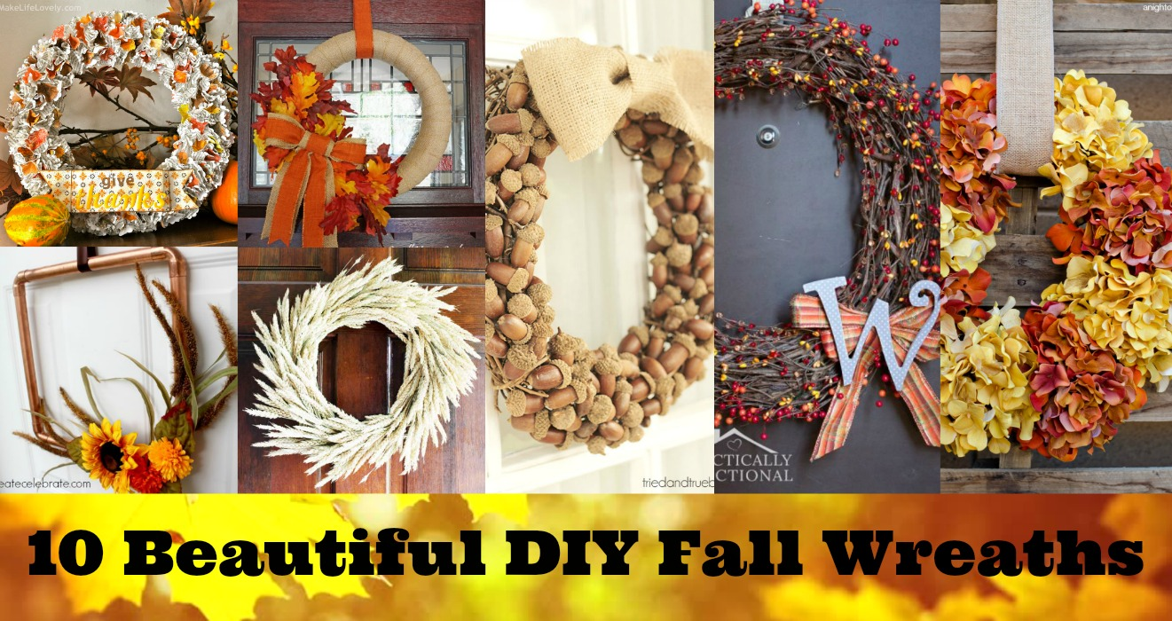 10 beautiful diy fall wreaths for your home resin crafts resin crafts fall decor affordable fall decor diy wreaths diy fall wreaths