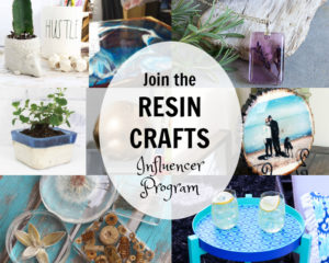 Resin Crafts Blog Influencer Program