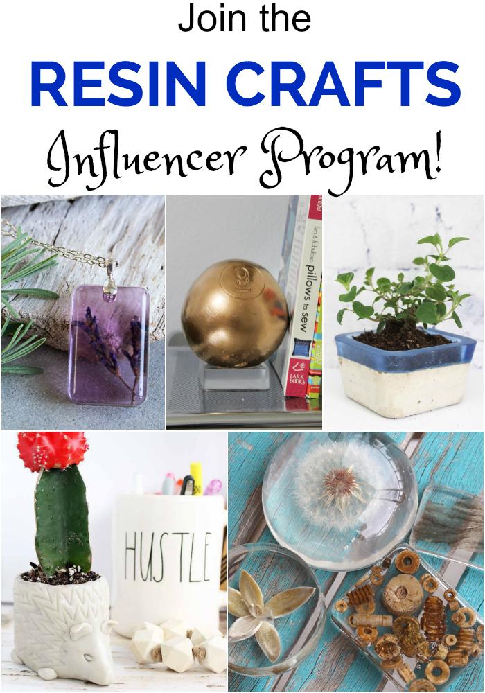 Resin Crafts Influencer Program