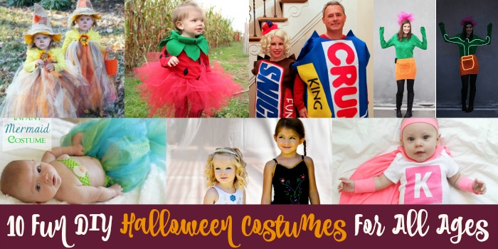 Resin Crafts | DIY Costumes | DIY Halloween Costumes | Adult Costumes | Kids Costumes |  sc 1 st  Resin Crafts & 10 Fun DIY Halloween Costumes for All Ages - Resin Crafts
