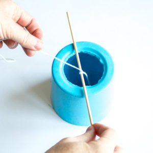 how to make candles using EasyMold