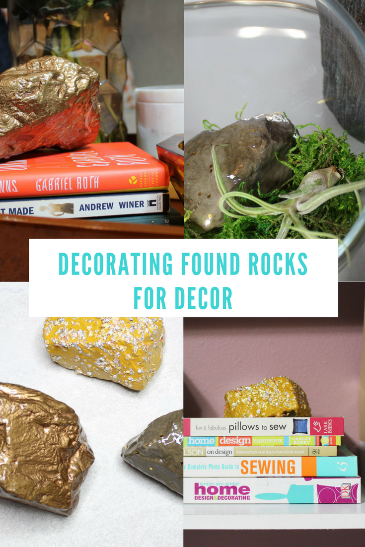 Protecting and decorating found rocks for d cor whitney for Diy projects with rocks
