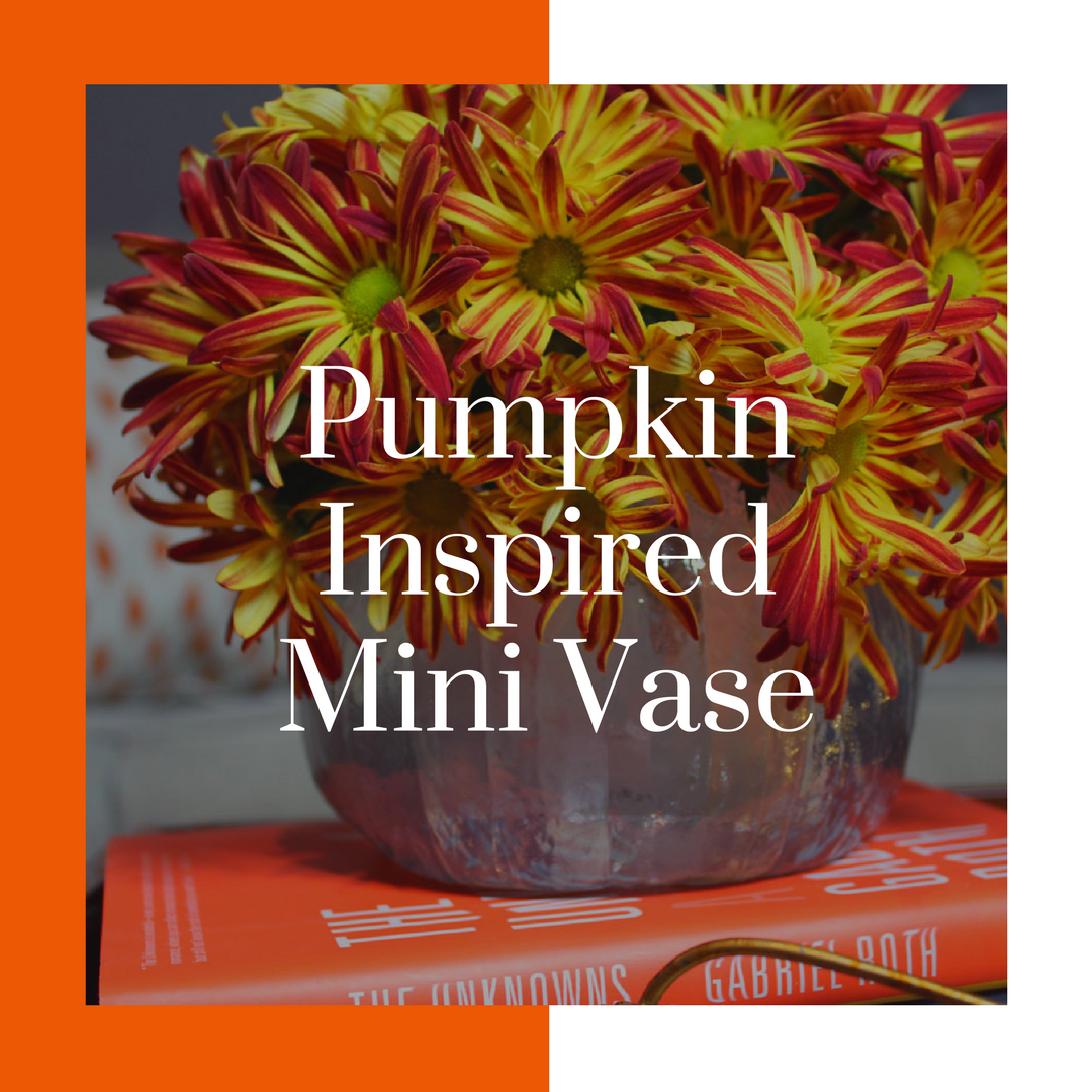 pumpkin inspired resin mini vase | whitney j decor | pumpkin diy | diy pumpkin | resin pumpkin diy | resin crafts | diy resin projects | resin vase | pumpkin vase