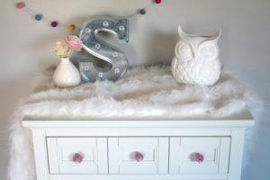 Pink Glitter Resin Knobs DIY
