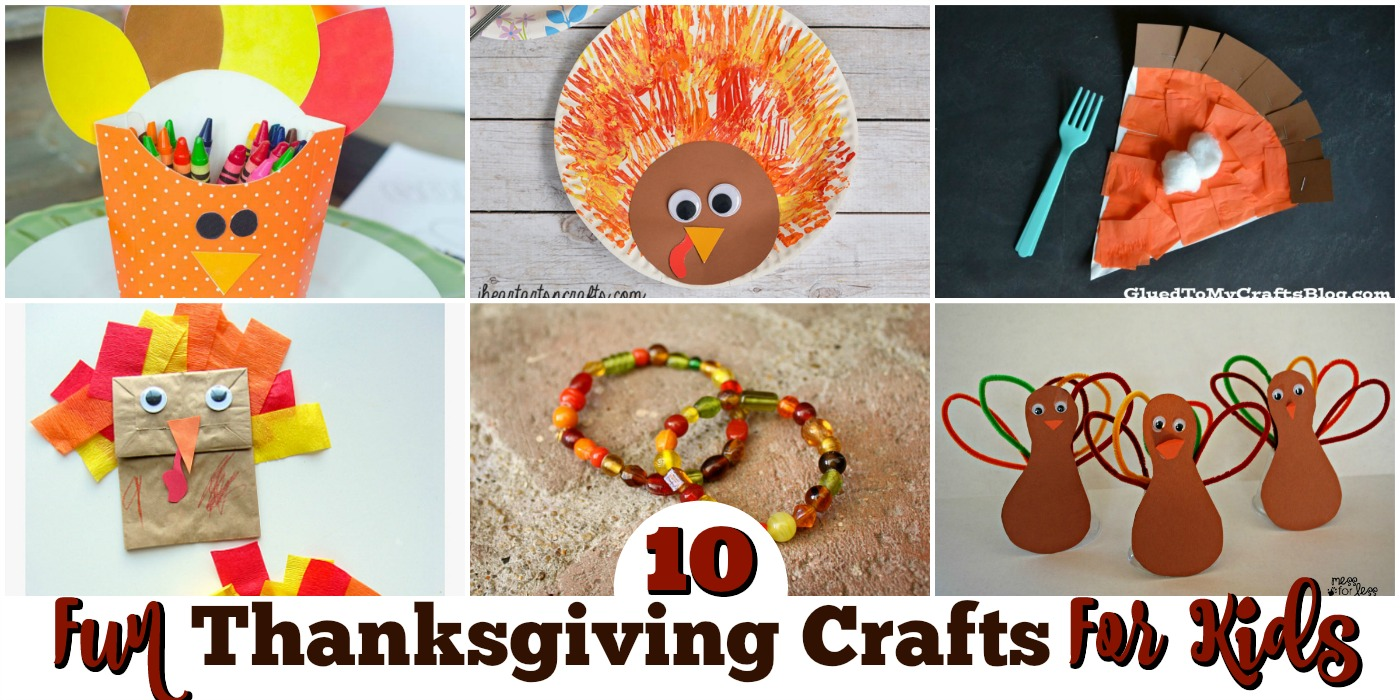 10 fun thanksgiving crafts for kids resin crafts for Thankful crafts for kids