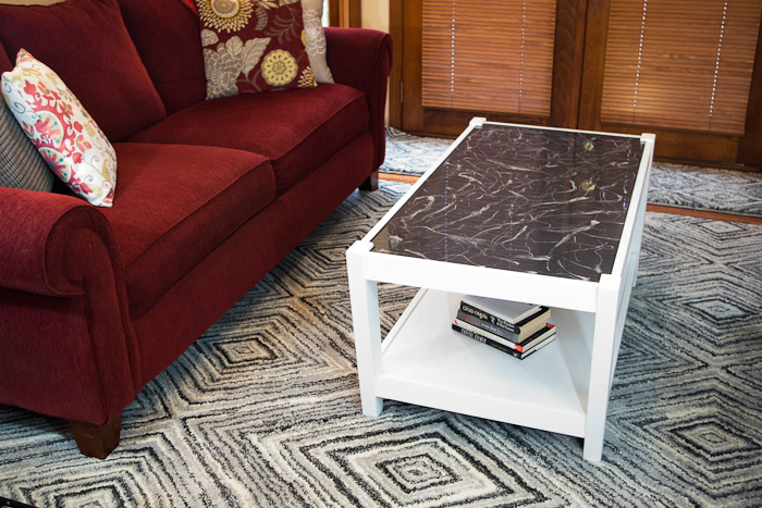 Coffee Table Refinished With Resin Resin Crafts