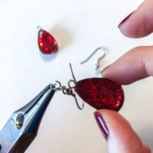 DIY resin jewelry