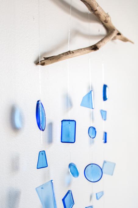 Facebook Hanging Seaglass Craft Video